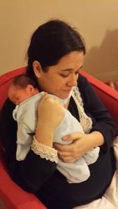 Marcel a solo 3 días de nacido