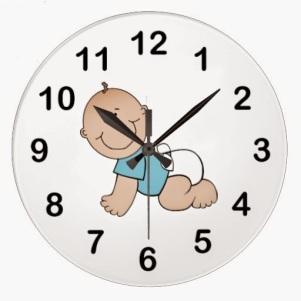 Resultado de imagen para reloj bebe